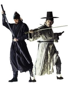 "Choi Min Soo and Jun Kwang Ryul (who gave a great performance!) from ""Warrior Baek Dong Soo""."