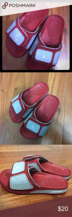 Kids JORDAN SANDALS Size 13c worn but minor wear and tear Jordan Shoes Sandals & Flip Flops