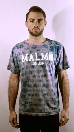 Malmo London. Malmö Signature Tie Dye Tee in '?' Individually dyed so each piece is unique. Don't ask us how we came up with this colour. Is it even a colour? Just trust us when we say. It suits you.