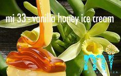 "mi 33 - ""vanilla honey ice cream""  2-3 minuten vers gemaakt I pure bijen honing Cocktails, Ice Cream, Stuffed Peppers, Vegetables, Plants, Food, Craft Cocktails, No Churn Ice Cream, Icecream Craft"