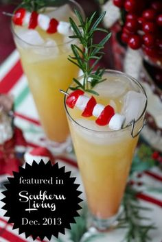 Ambrosia Cocktail (featured in Southern Living Dec. 2013) http://www.yoursouthernpeach.com