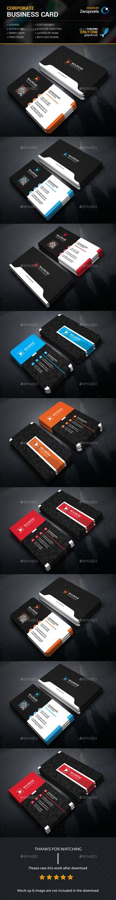 Business Card Bundle — Photoshop PSD #official #designer • Available here → https://graphicriver.net/item/business-card-bundle/15911246?ref=pxcr