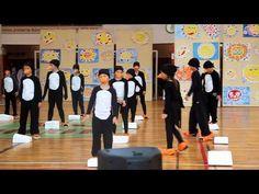 HLUK 2015: Akademie školy - 2. B, Tanec tučňáků (www.SlovackoDNES.cz) - YouTube