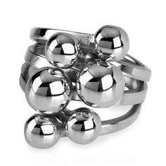 Tianguis Jackson Silver Beads Ring