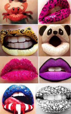 Crazy lips