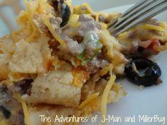 The Adventures of J-Man and Millerbug » Easy Dinner Idea: Crock Pot Mexican Hamburger Casserole