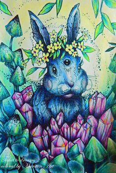 Ticket to dreams von Karolina Kubikowska, koloriert von Marston Art - Hase