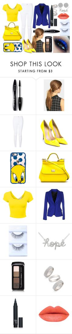 """lunes"" by aliciadelgado on Polyvore featuring beauty, Lancôme, Ficcare, Gianvito Rossi, Casetify, Dolce&Gabbana, Plein Sud, Guerlain, Topshop and Karen Kane"
