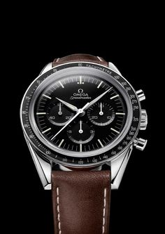 "#Watches New #Speedmaster by Omega inspired by ""First Omega In Space"" Wally Schirra #Nasa 1962"