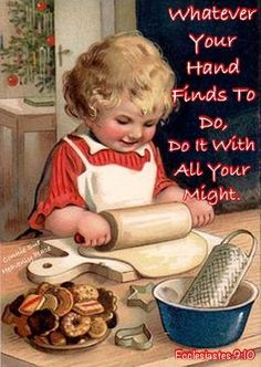 "Find JOY In ""Whatever Your Hand Finds To Do."" -Ecclesiastes 9:10"