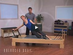 Julian Littleford goes over an exercise on the Reformer that will help prepare your clients for 'The Star' and 'Side Support'.