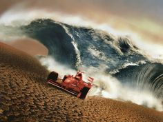 F1 Ferrari Wave