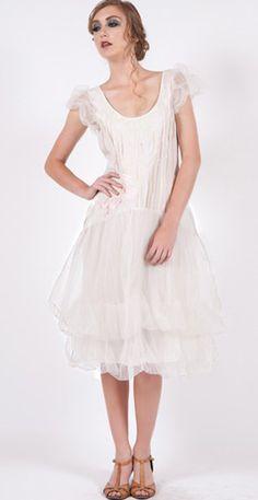 167 Ivory Nataya Rose Dress