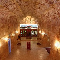 Coober Pedy, South Australia | What makes it unique: This Australian city is completely underground and has been given the informal title of The Opal Capital of the world. Visit one of the many underground mines, just be careful not to tumble down any shafts!