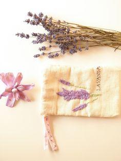 Lavender Sachet Bag | Alma Schouman's blog