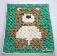 Looking for a quick, easy, and gender neutral baby blanket?! This one is going to be your new go-to pattern! I've combined my two newest obsessions: Bernat Blanket Yarn and C2C (corner-to-corner) to create this extra soft and snuggly Teddy Bear Blanket! If you aren't familiar with Bernat Blanket Yarn, it is a bulky weight,soft …