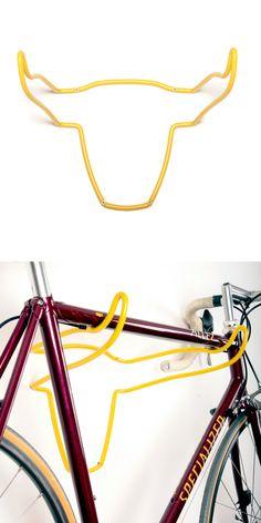 Trophy bull bike rack #productdesign