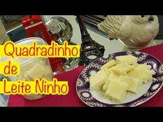 am-ana: Receita: Quadradinho de Leite Ninho @eucapricho por Luiza Gomes = Ingredientes para uma receita inteira (eu fiz meia receita): – 1 kg de açúcar – 250 ml de leite – 400g de leite em pó (pode ser ninho, ou a marca que você preferir) – 1 pacote de coco ralado 100g