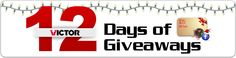 12 Days of Giveaways!!!