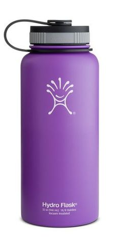 Hydro Flask 32 oz Wide Mouth Insulated Bottle - Acai Purple