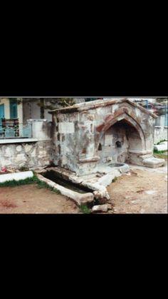 Fountain-Historic fountain-Constructive: Unknown-Year built: Unknown-Pınar street-Harım neighborhood-Bor-Niğde