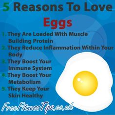 Click The Pic To Learn More About The Benefits Of Eggs