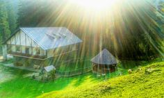 Cabin in the Baiului Mountains, Romania. Just awesome.