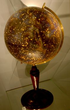 Magnificent   Celestial Globe    at the Globe Museum in Vienna, Austria