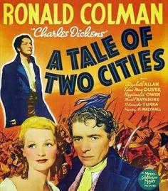 movie posters 1940s   Le Marquis de Saint-Évremond - A Tale of Two Cities, Jack Conway ...