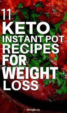 These simple Instant Pot Keto Recipes are delicious keto dinner recipes that you will love. These traditional dishes have a low carb spin on it leaving out the rice and other carb heavy ingredients and cooking them in an Instant Pot for a quick and easy keto dinner for busy weeknights! You will love these 11 Keto Instant Pot recipes for your Ketogenic Diet. These low carb recipes taste amazing and will keep you in ketosis.  | Olivia Wyles | Keto Lifestyle Guide | Low Carb Recipes