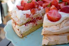 Midsommartårta | Älska att Baka