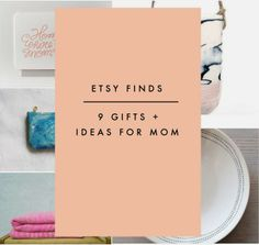Etsy Finds | 10 Gifts + Cards for Mom
