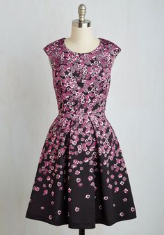 Flirty Curtsy Dress, @ModCloth