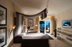 Décoration de chambre à coucher moderne