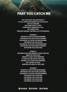 Beyoncé | Lemonade| Pray You Catch Me Lyrics|