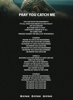 Beyoncé   Lemonade  Pray You Catch Me Lyrics 