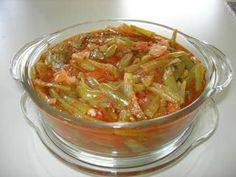 Almost Turkish Recipes: Turkish Green Beans (Zeytinyağlı Taze Fasulye)