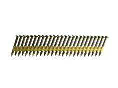 B&C Eagle 112X148HD/22 Round Head 1-1/2-Inch x .148 x 22 Degree Hot Dip Galvanized Smooth Shank Plastic Collated Joist Hanger Nails (6,000 per box)