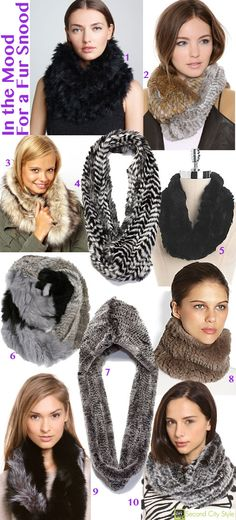 Fall '13 Accessory Trend: I'm In the Mood For a #Fur Snood