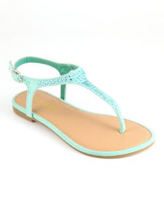 This Mint Gaga Sandal is perfect! #zulilyfinds