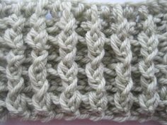 Crochet Spot » Blog Archive » How to Crochet: Horizontal and Vertical Ribbing - Crochet Patterns, Tutorials and News