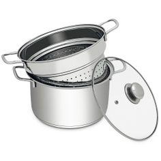 Espagueteira Hercules Plaza em Aço Inox PA101 - Cozinha no Extra.com.br