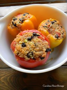 stuffed peppers~ a tasty, easy recipe