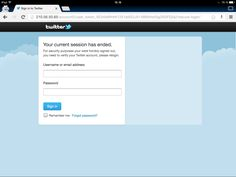 Latest Twitter phishing page. Links are being spread out on Twitter using compromised accounts. Twitter instructions in case your account has been compromised: https://support.twitter.com/articles/31796-my-account-has-been-compromised