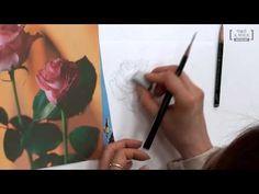 [꽃그림] 꽃그림을 그리는 기본적인 순서 - YouTube Colorful Drawings, Art Drawings, Flower Tutorial, Watercolor Paintings, Draw Flowers, Drawing Drawing, Kunst, Colourful Designs, Water Colors