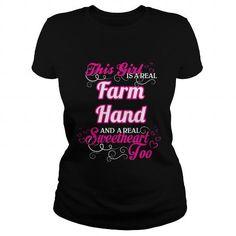 Farm Hand Sweet Heart T Shirts, Hoodies. Get it now ==► https://www.sunfrog.com/Names/Farm-Hand--Sweet-Heart-Black-Ladies.html?57074 $22.99