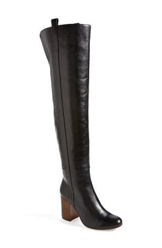 Free shipping and returns on VC Signature 'Kylar' Over the Knee Boot (Women) at Nordstrom.com. A clean-cut, over-the-knee boot keeps it classic with a round-toe cut and pared-down design. The blockier, stacked heel gives you a street-smart, well-balanced boost.