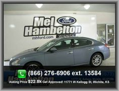 2011 Nissan Maxima 3.5 SV Sedan   Rear Center Seatbelt: 3-Point Belt, Window Grid Antenna, Max Cargo Capacity: 14 Cu.Ft., Fuel Consumption: Highway: 26 Mpg, Cruise Controls On Steering Wheel, Strut Front Suspension, Right Rear Passenger Door Type
