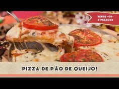 Pizza de Pão de Queijo! | Receitas de Minuto - A Solução prática para o seu dia-a-dia!