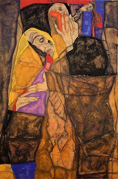 Egon Schiele The Blind I 1913
